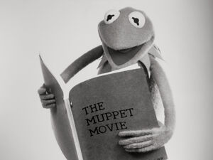 Kermit reading TMM script