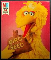 Milton bradley 1976 puzzle big bird