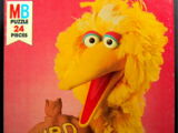Sesame Street puzzles (Milton Bradley)