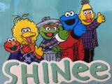 SHINee x Sesame Street collection