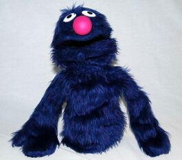 Vicma abrete sesamo 1976 grover puppet
