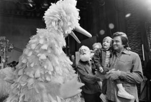 Big Bird and Johnny Cash 1973