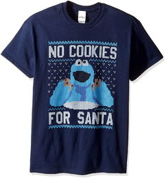 Zara cookie santa shirt