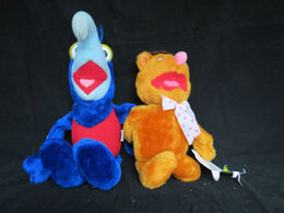 Dakin 1981 gonzo and fozzie plush 2