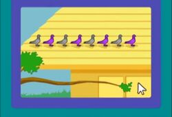 PWMS Pigeonpatten greypurple
