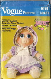 Piggy bonnet pattern