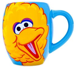 Sesame place mug big bird