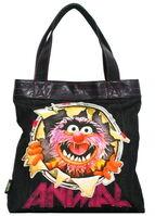 Animal busted tote bag