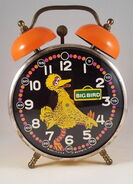 Bradley big bird alarm clock