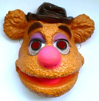 Cesar french halloween costume mask fozzie bear