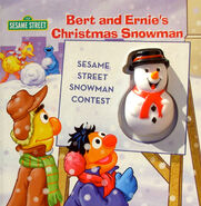Bert and Ernie's Christmas Snowman