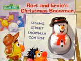 Bert and Ernie's Christmas Snowman