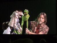 D23 puppeteer demo bunny Steve