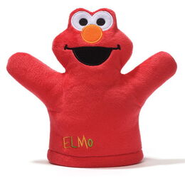 Gund mini puppet elmo