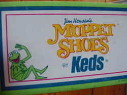 Keds 1980 muppet shoes box