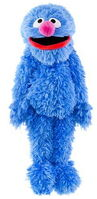Sesame place plush grover 17