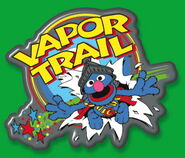 Vapor Trail collection pin