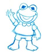 Baby kermit sketch