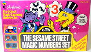 Colorforms 1988 magic numbers set 1