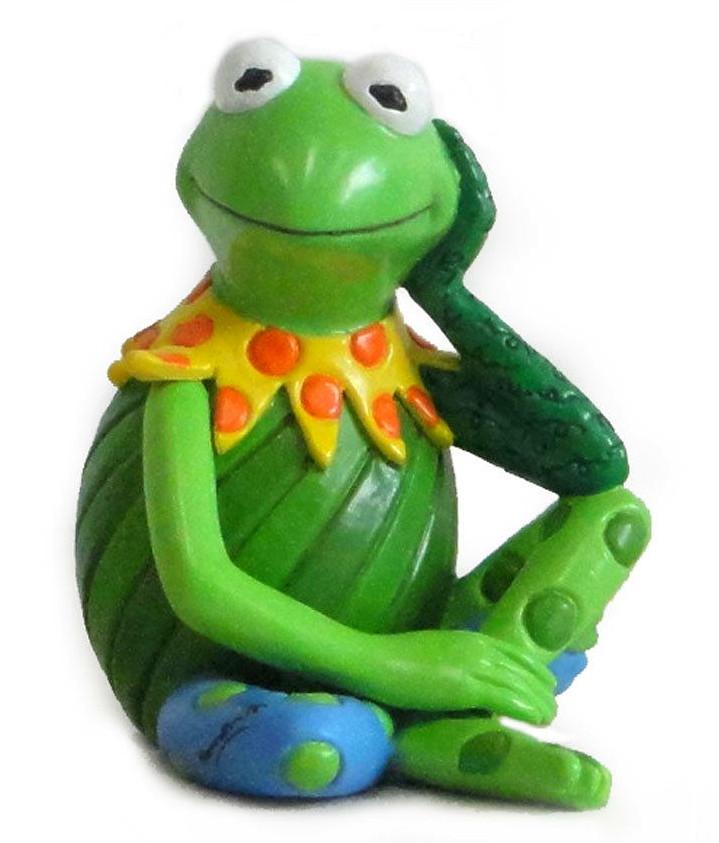 Image Enesco Romero Britto Kermit Pop Art Figurine Jpg Muppet