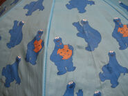 Hatley cookie monster umbrella 2
