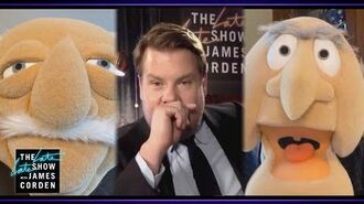 Statler & Waldorf Heckle James Corden's Monologue (2020-06-26)