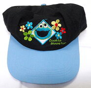 Accessory network cookie monster hat cap