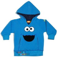 Cookie monster fabric flavours hoodie