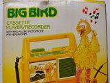 Big Bird cassette player/recorder (Daylin)