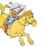 Lance (Rodeo Rosie's horse)