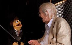 Martin Landau and Walter