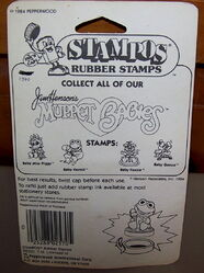 Pepperwood 1984 stampos muppet babies rubber stamps 2