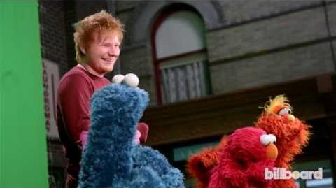 "Ed Sheeran & Macklemore on ""Sesame Street"" Behind-the-Scenes"