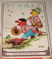 Milton bradley 1980 smollin summer puzzle