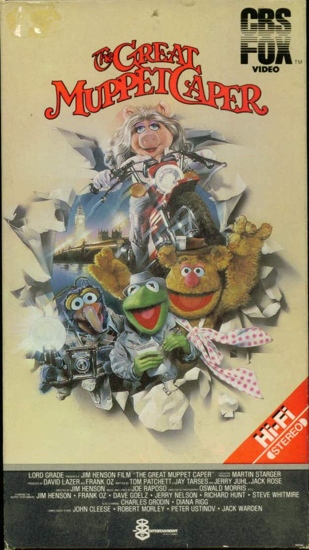 The Great Muppet Caper (video) | Muppet Wiki | FANDOM ...