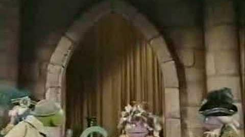 Sesame Street News Flash The Princess and the C