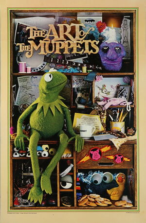 Art of the muppets poster