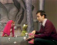Bob reads F story Kermit