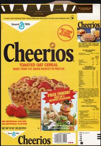 Cheerios muppet magazine