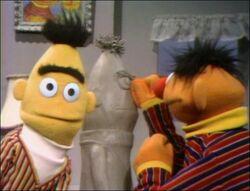 Ernie's Bert Sculpture