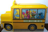 Fisher-price sesame street toy box and chair 2