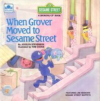 When Grover Moved to Sesame Street