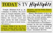 Jimmy Dean Muppets - Chicago Tribune Sep 19 1963