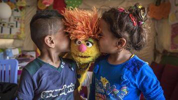 Kiss Tonton and kids