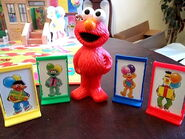 Milton bradley elmo's birthday game 5