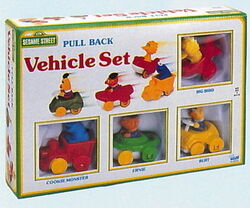 1 illco 1992 pull back vehicle set