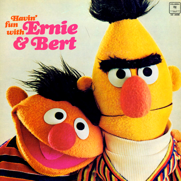 havin 39 fun with ernie bert muppet wiki fandom. Black Bedroom Furniture Sets. Home Design Ideas