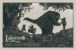 Mondo poster Labyrinth Richey Beckett