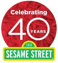 Sesame Street 40th Logo