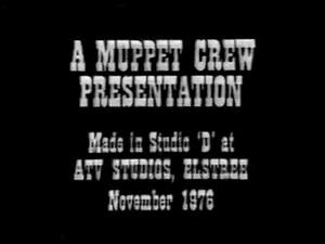 A Muppet Crew Presentation